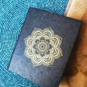Notitieboekje Mandala Loktapapier