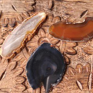 agaatschijfje natuur klein