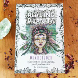 Orakelboek bij deck Healing Plants de Orakelmeisjes
