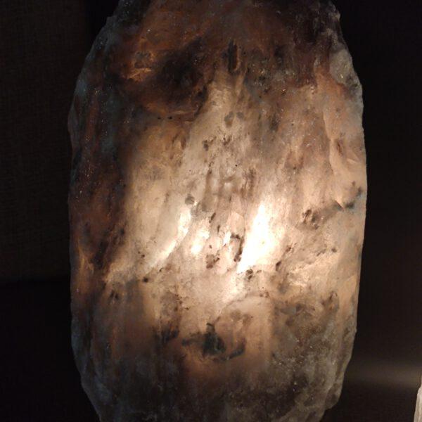 Zoutlamp grijs