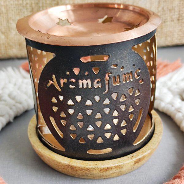Aromafume wierookset aura reiniging brander 1